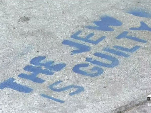 Graphic Antisemitic Graffiti On Pathways From Will Rogers State Park All The Way Into Venice