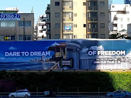 StandWithUs Counters Anti-Israel Billboard in Israel May 15, 2019