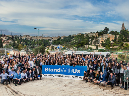 "StandWithUs wins prestigious Genesis Foundation ""Speak Out for Israel"" Grant for Israel Fellowship"