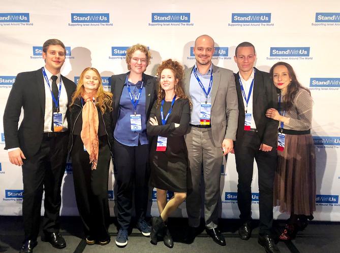 Conferência internacional StandWithUs Israel in Focus - Los Angeles, 2018