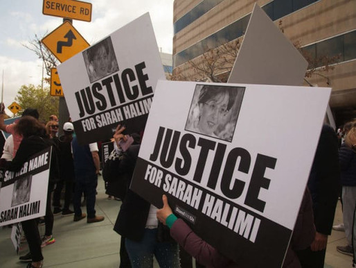 Protestors Rally for Sarah Halimi in Front of French Consulate