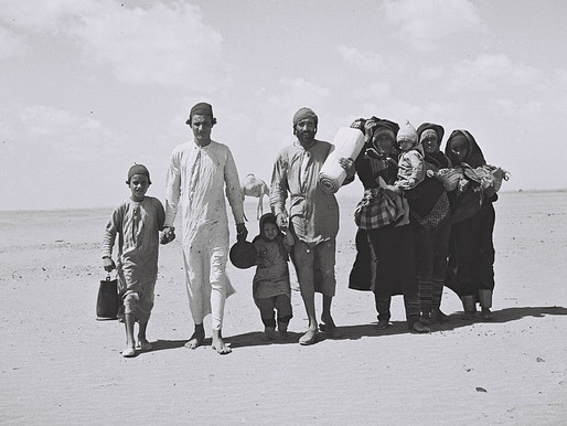 Why isn't there an UNWRA for Jewish refugees from the Arab countries?
