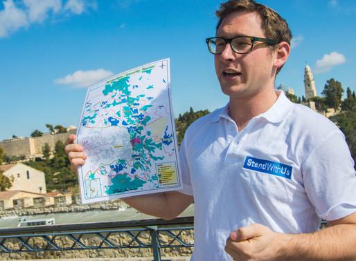 StandWithUs 'Jerusalem LIVE' Tours, awarded UJIA grant