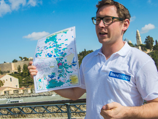 StandWithUs 'Jerusalem LIVE' Tours, awarded UJIA grant