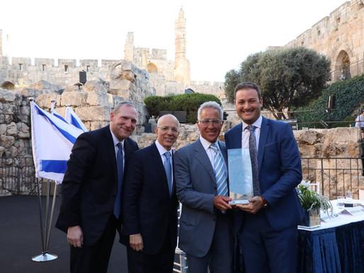 StandWithUs Israel Executive Director Michael Dickson Awarded Nefesh B'Nefesh Bonei Zion Prize