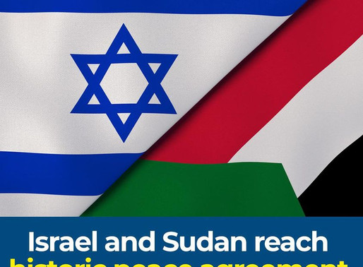 StandWithUs Welcomes the Sudan-Israel Rapprochement
