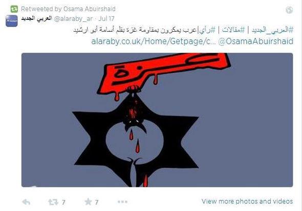 Osama Abu Irshaid antisemitism.jpeg