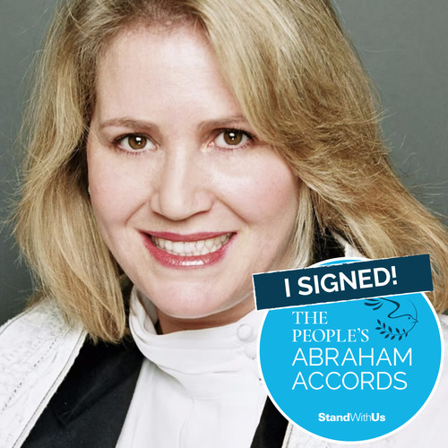 I Signed The People's Abraham Accords