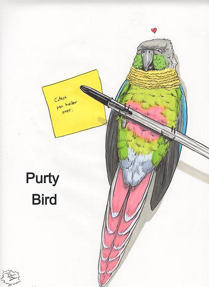 Purty Bird