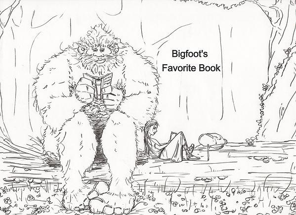 Bigfoot's Favorite Book