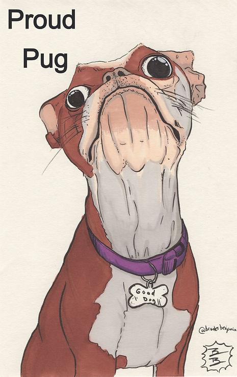 Proud Pug