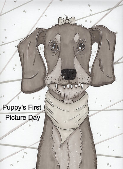 Puppy's First Picture Day