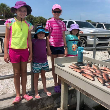 Nice days catch for the girls!