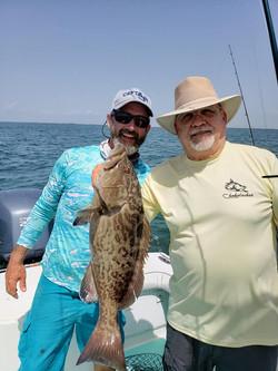 Inshore grouper.