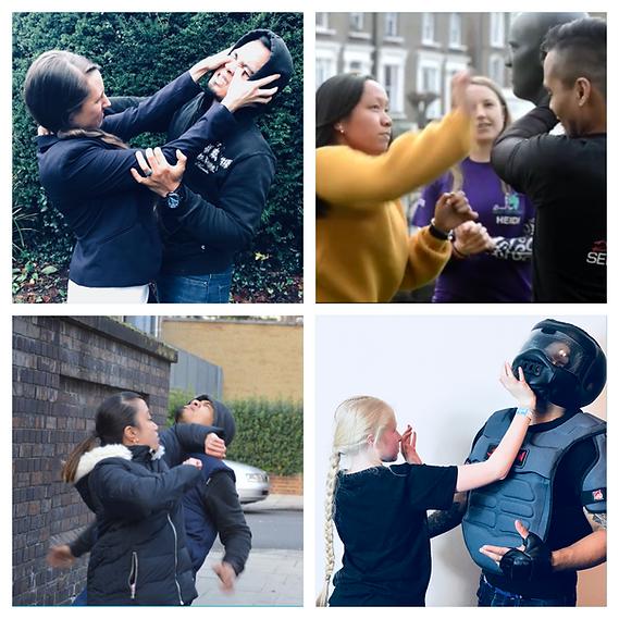 Women Teens Self Defence