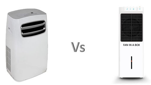 The differences between air coolers and portable air conditioners