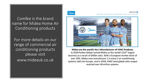 Midea and Manchester City FC sponsorship