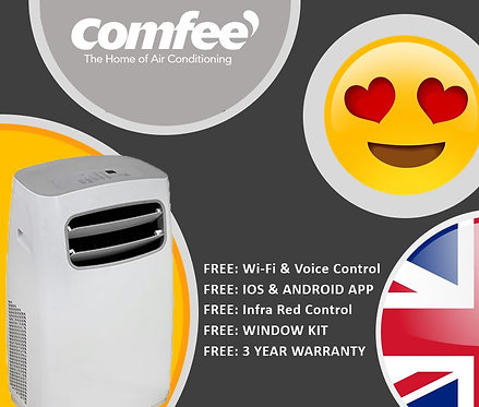 Portable Air Conditioning Unit Size 9000 2.6kW (Cosmetic Damage to Box only)