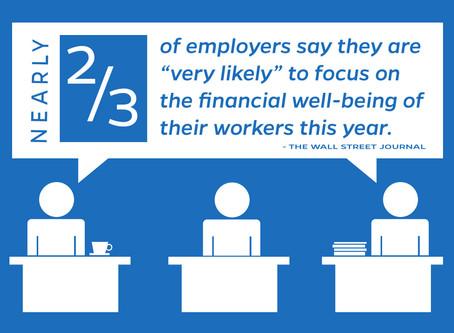 The Wall Street Journal Declares Financial Wellness As 'Latest Office Perk'