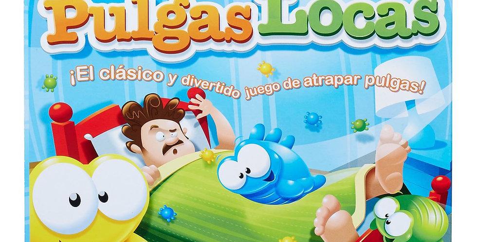 PULGAS LOCAS CLASICO Y DIVERTIDO JUEGO DE ATRAPAR PULGAS