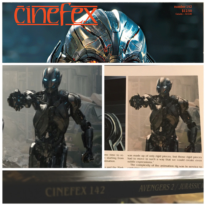 CINEFEX 142                                       Avengers Age of Ultron
