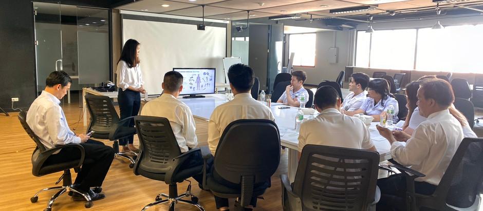 ศัลยกรรมตกแต่ง รพ.พระมงกุฎเกล้า เยี่ยมชมบริษัท Meticuly 3D printing คณะวิศวกรรมศาสตร์จุฬาฯ