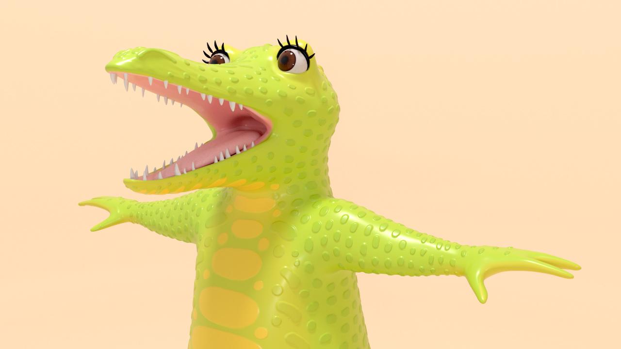 Savannah Character Model