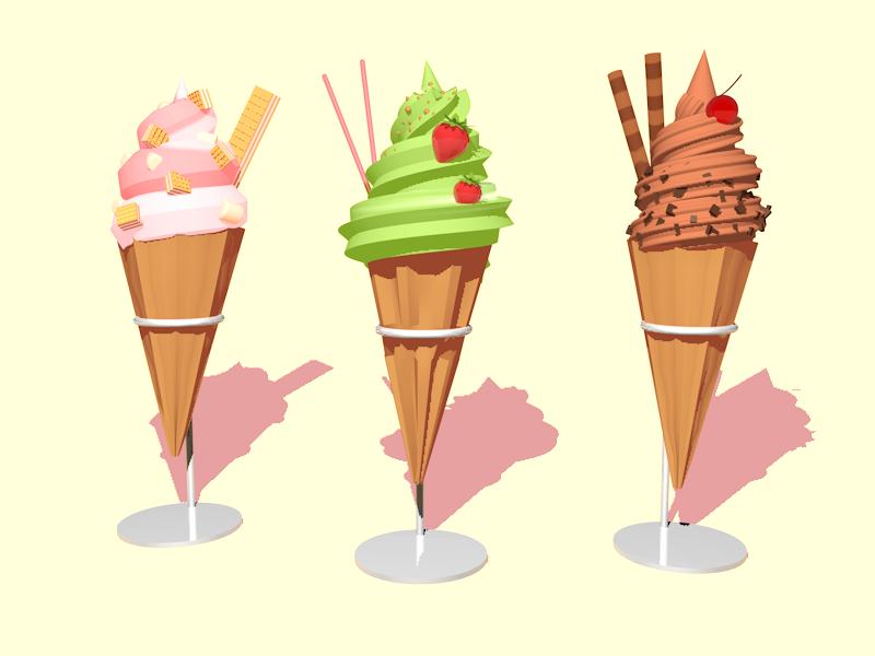 3D Sweet Eats