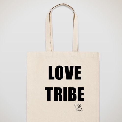 Love Tribe Canvas Tote Bag