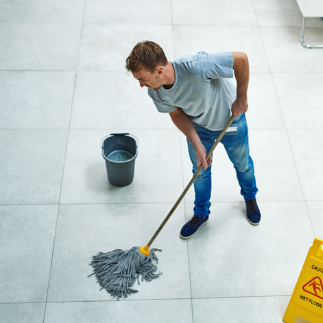 Hard-surface floor cleaning and maintenance