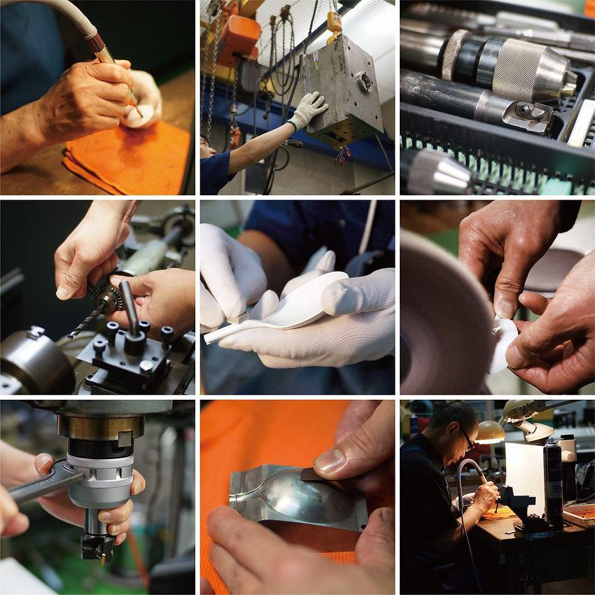 職人による製造工程