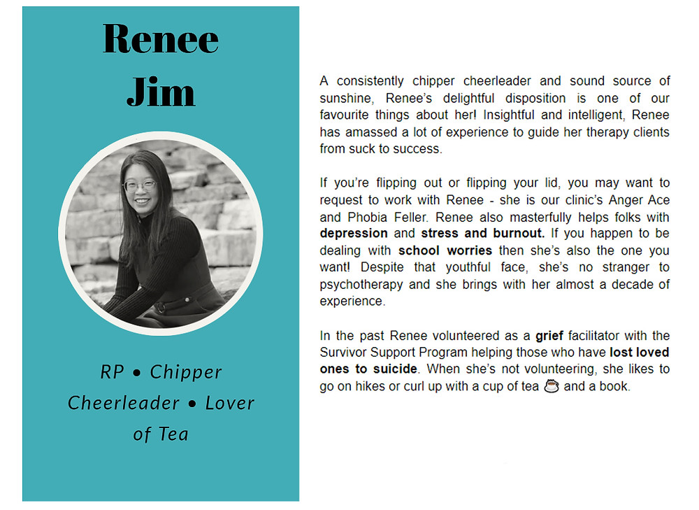 Renee Jim bio on Limestone Clinic