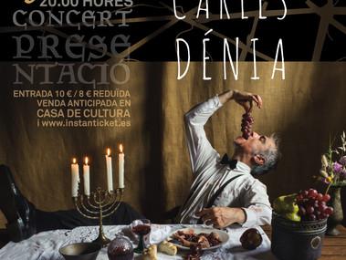 """Carles Dénia estrena aquest divendres el seu espectacle """"Cant Espiritual"""""""