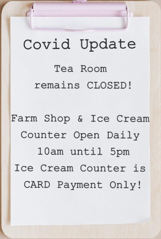 Tea Room Remains Closed!