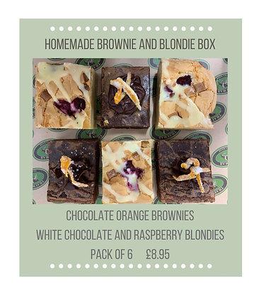 Brownie and Blondie Box