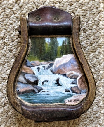 "Stirrup Art - ""Spring Runoff"""