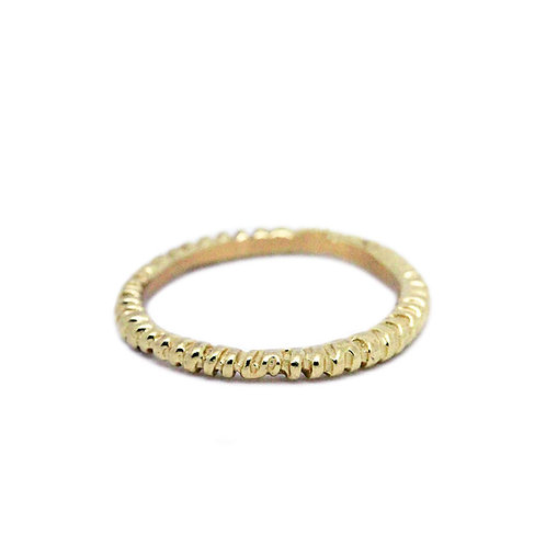 Gold Fossil Ring
