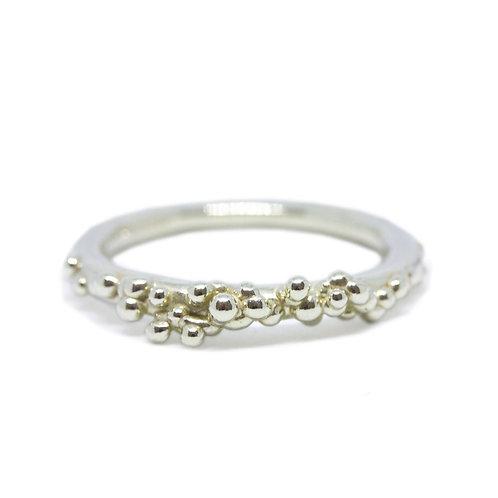 Delicate Granule Ring