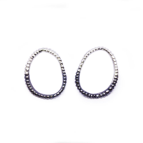Two Tone Fossil Studs