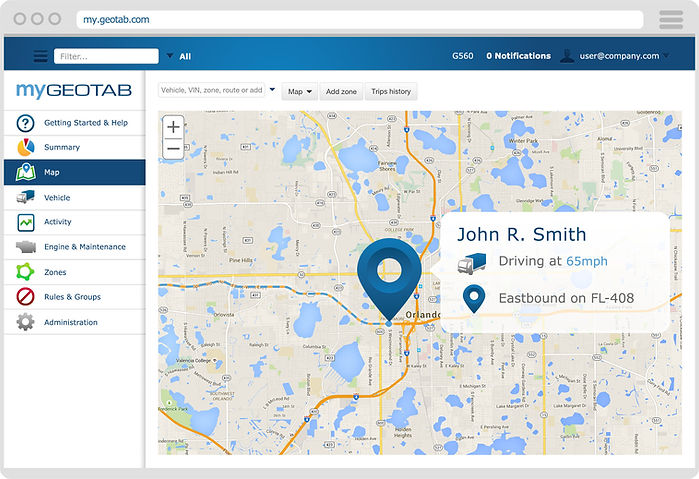 Geotab GPS Tracking