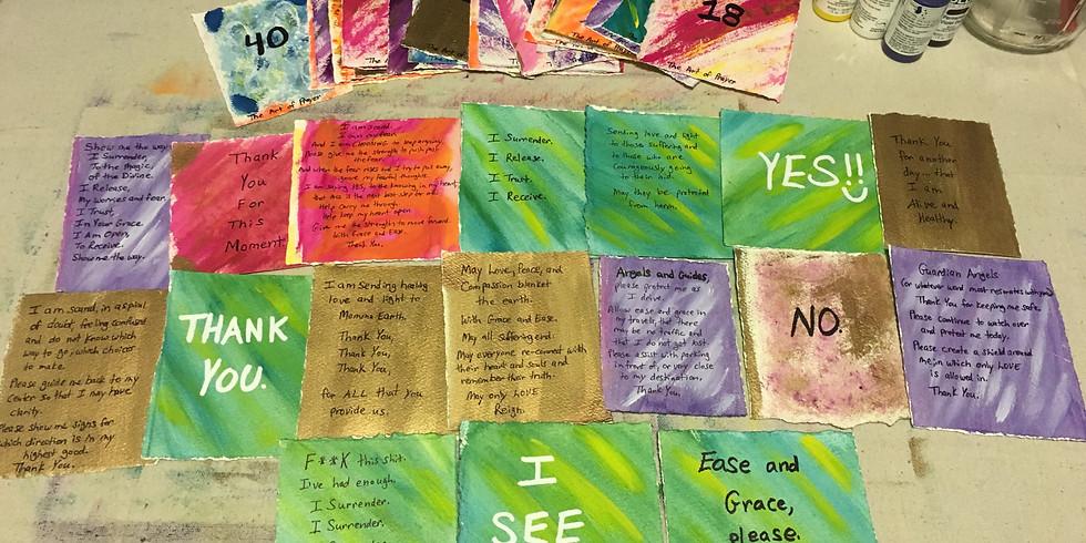 Prayer Card Creation