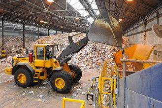 Aylesford Newsprint recycling