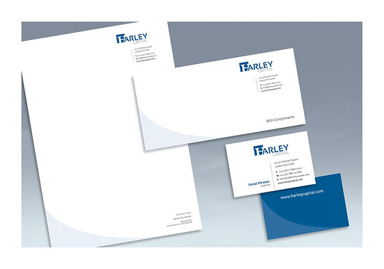 Harley Capital stationery