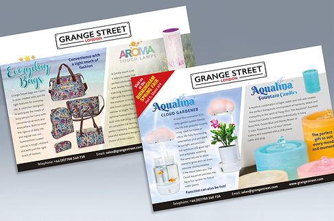 Grange Street company postcard