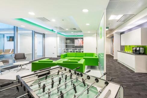 Office relaxation area, Winnersh