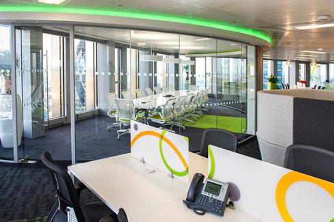 Office refit in Tower 42, London