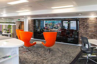 Office think tank area, London