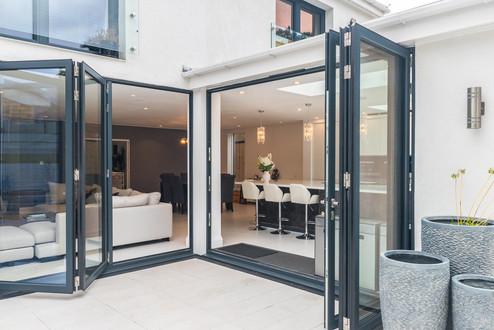 Bi-fold doors in Croydon