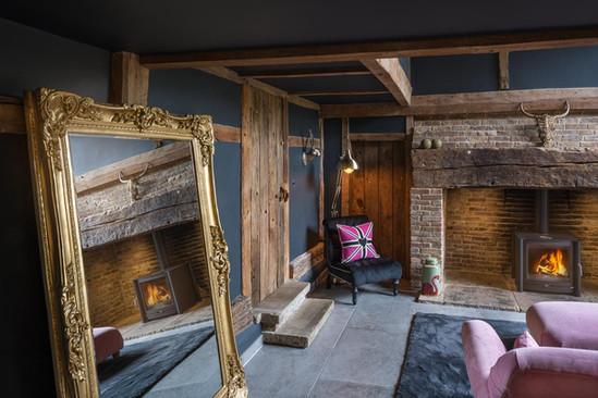 Manor Barn interior