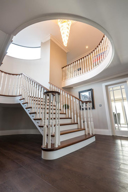 Private house staircase